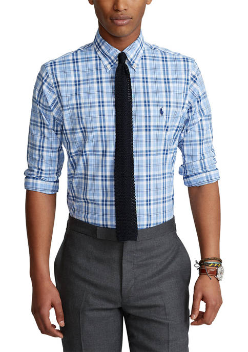 Polo Ralph Lauren Classic Fit Checked Performance Shirt
