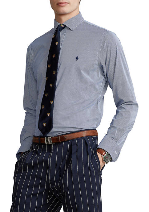 Polo Ralph Lauren Classic Fit Tattersall Performance Shirt