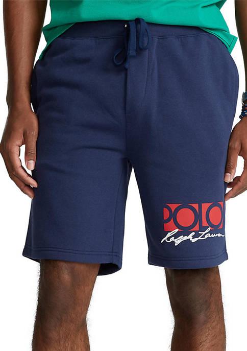 Polo Ralph Lauren 8-Inch Logo Fleece Shorts