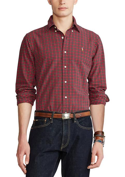 Polo Ralph Lauren Classic Fit Plaid Oxford Shirt