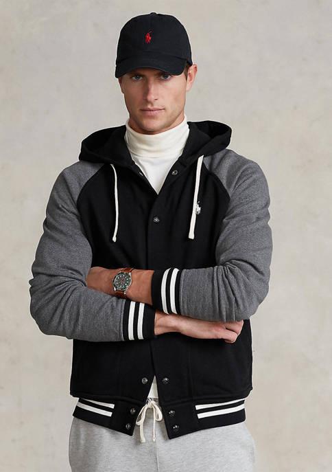 Polo Ralph Lauren Fleece Hooded Baseball Jacket