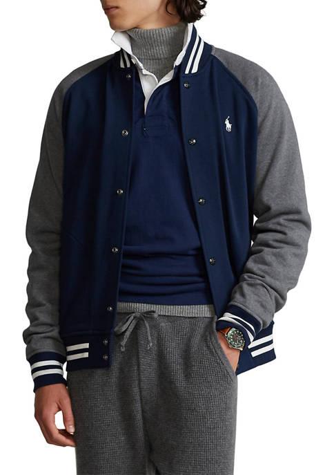 Polo Ralph Lauren Fleece Baseball Jacket