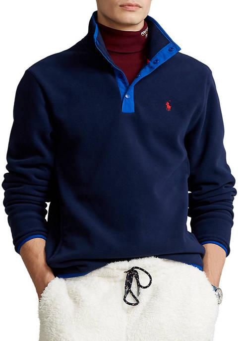 Polo Ralph Lauren Fleece Mock Neck Pullover