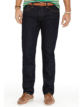 467b7617f Polo Ralph Lauren. Polo Ralph Lauren Big   Tall Hampton Straight-Fit  Rinse-Wash Jeans