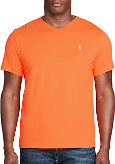 Polo Ralph Lauren Big & Tall Cotton Jersey V-Neck T-Shirt