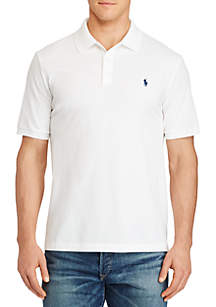 Big & Tall Classic Fit Stretch Mesh Polo Shirt