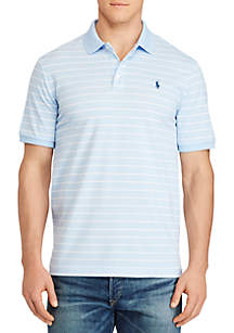 Big & Tall Classic Fit Stretch Mesh Polo Shirt