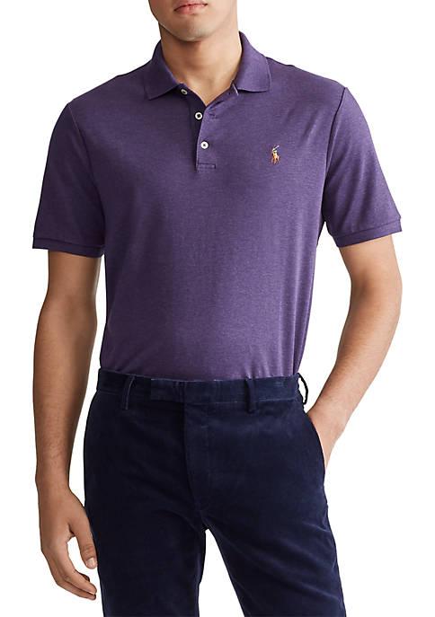Big & Tall Classic Fit Interlock Polo Shirt