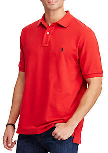 Big & Tall Classic Fit Mesh Polo