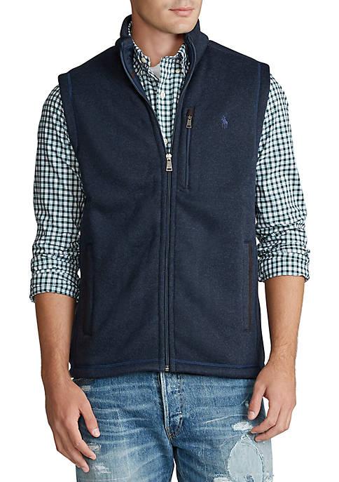 Polo Ralph Lauren Fleece Mockneck Vest