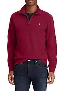 Big & Tall Estate Rib Half-Zip Pullover