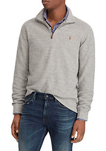 Big & Tall Estate Rib Half-Zip Pullover