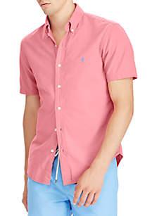 Big & Tall Classic Fit Cotton Sport Shirt