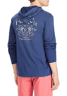 Big & Tall Custom Slim Fit Hooded T-Shirt