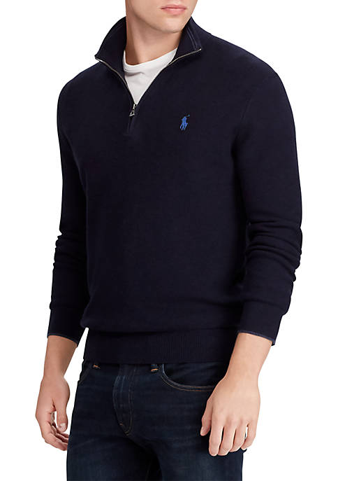 Polo Ralph Lauren Big & Tall Cotton Half