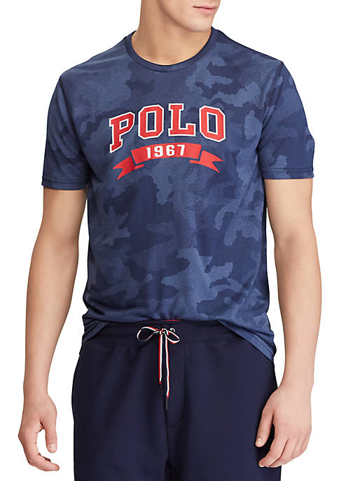 Polo Ralph Lauren Big& Tall Short Sleeve Performance Jersey Camo Tee hot sale