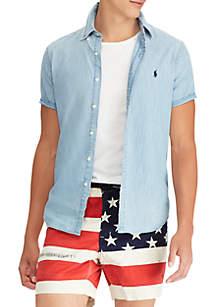 Big & Tall Classic Fit Chambray Shirt