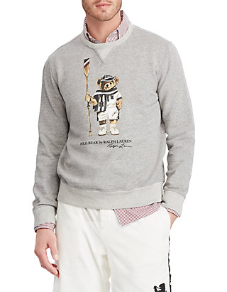 3ee7b8c32fd7ca Polo Ralph Lauren. Polo Ralph Lauren Big & Tall Polo Bear Fleece Sweatshirt