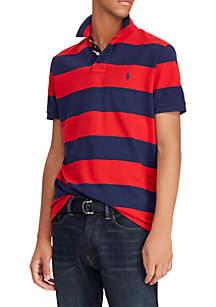 Big & Tall Classic Fit Mesh Polo Shirt