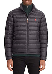 Big & Tall Packable Quilted Down Jacket