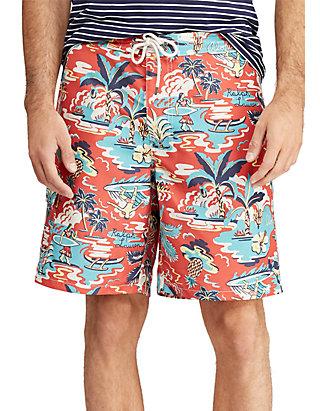 f4d8708a85 Polo Ralph Lauren. Polo Ralph Lauren Big & Tall Kailua Tropical Swim Trunk