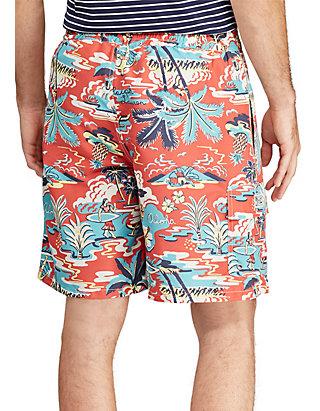 edea4aed77 ... Polo Ralph Lauren Big & Tall Kailua Tropical Swim Trunk ...