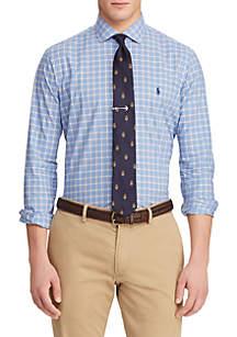 Big & Tall Classic Fit Plaid Poplin Shirt