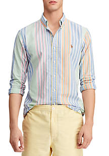 Polo Ralph Lauren Big & Tall Classic Fit Striped Shirt