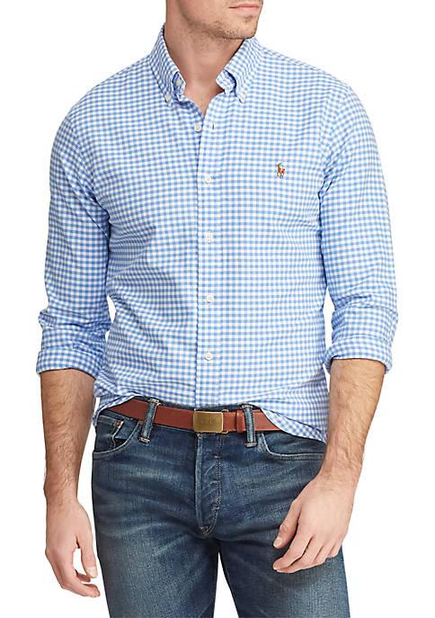 Big & Tall Classic Fit Gingham Shirt