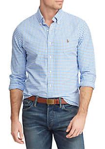 Polo Ralph Lauren Big & Tall Classic Fit Gingham Shirt