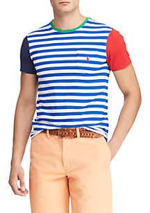 8b8b5615d ... Polo Ralph Lauren Big   Tall Classic Fit Striped Pocket Tee