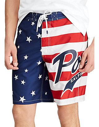 9245842bcd Polo Ralph Lauren. Polo Ralph Lauren Big & Tall Kailua Graphic Swim Trunks