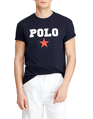78b8afb6 Polo Ralph Lauren. Polo Ralph Lauren Big & Tall Classic Fit Cotton Graphic  Tee