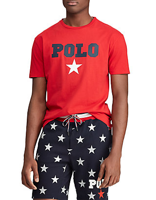 180e84aa Polo Ralph Lauren. Polo Ralph Lauren Big & Tall Classic Fit Graphic Tee