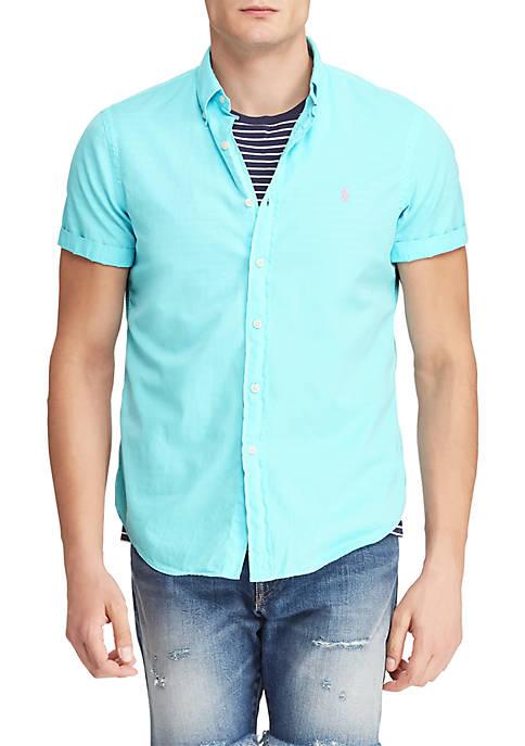 Big & Tall Classic Fit Twill Shirt