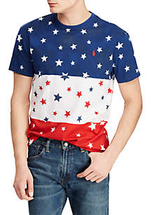 Polo Ralph Lauren Big & Tall Classic Fit Cotton Graphic Tee