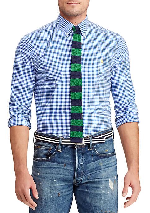 Big & Tall Classic Fit Poplin Shirt