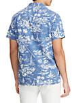 Big & Tall Classic Fit Linen Blend Shirt