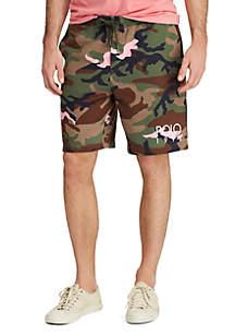 9ab0063f ... Polo Ralph Lauren Big & Tall Cotton Blend Fleece Shorts