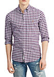 Big & Tall Classic Fit Plaid Oxford Shirt