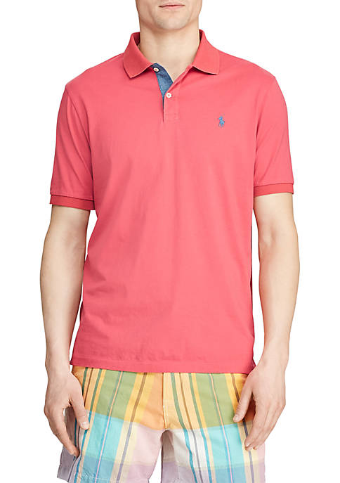 Big & Tall Classic Fit Jersey Polo Shirt