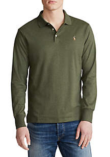 Polo Ralph Lauren Big & Tall Classic Fit Long Sleeve Polo Shirt