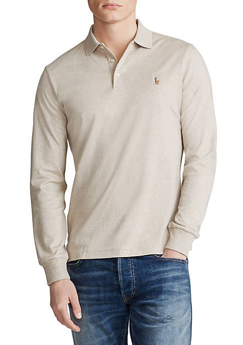 Big & Tall Classic Fit Long-Sleeve Polo