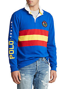 Polo Ralph Lauren Big & Tall Classic Fit Graphic Rugby Shirt