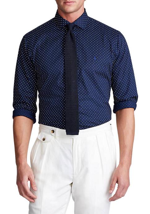 Polo Ralph Lauren Classic Fit Dot Poplin Shirt