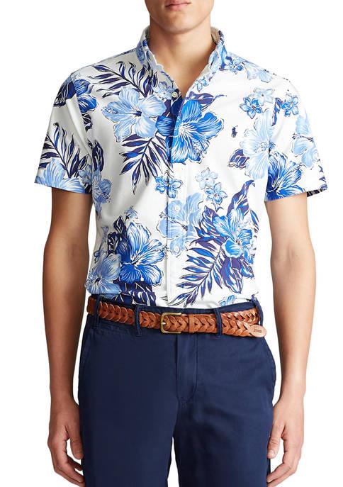 Big & Tall Classic Fit Floral Shirt