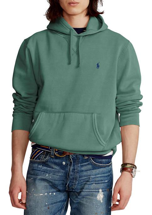 Big & Tall Garment-Dyed Fleece Hoodie