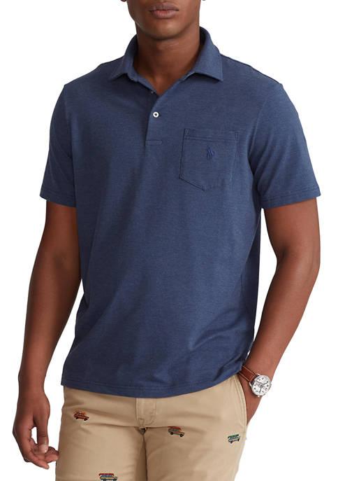 Big & Tall Performance Jersey Polo Shirt