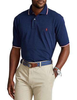 Big & Tall Mesh Polo Shirt