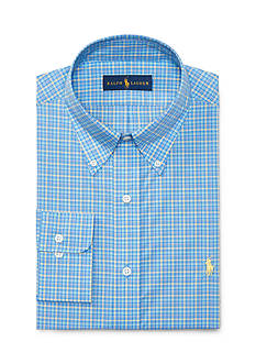 Polo Ralph Lauren Plaid Poplin Dress Shirt